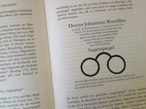 Reuchlin im Streit um die Bücher der Juden